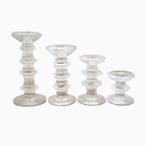 Vintage Kerzenhalter von Timo Sarpaneva für Iitalia, 2er Set