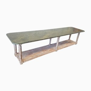 Large Antique French Console Table