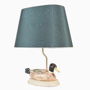 Vintage Tischlampe mit Ente
