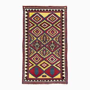 Handgearbeiteter persischer Gabbeh Bakhtiyari Teppich, 1870er