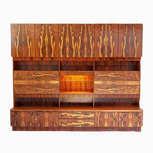 Vintage Rosewood Wall Unit