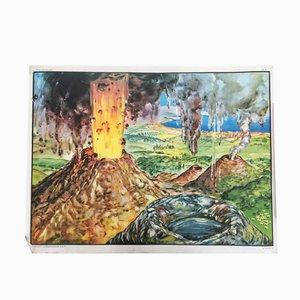 Volcano & Torrent Poster, 1960s