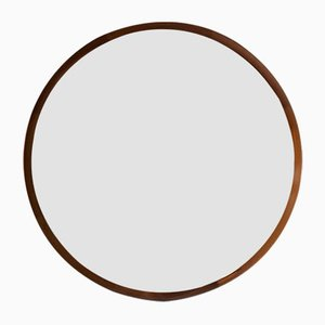 Circular Mirror by Uno & Östen Kristiansson for Luxus, 1950s