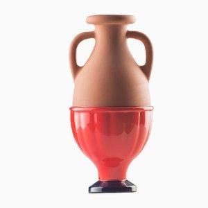 #04 Mini HYBRID Vase in Kobaltblau-Rot von Tal Batit
