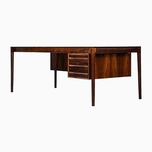 Palisander Schreibtisch von Torbjørn Afdal für Haug Snekkeri, 1960er