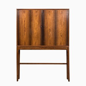 Danish Rosewood Cabinet by Ole Wanscher for A.J Iversen, 1954