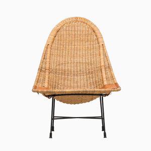Stora Kraal Easy Chair by Kerstin Hörlin-Holmquist for Nordiska Kompaniet, 1950s