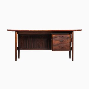 Model 205 Rosewood Desk by Arne Vodder for Sibast, 1960s