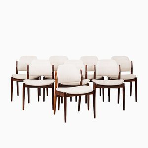 Model 462 Dining Chairs by Arne Vodder for Sibast, 1961, Set of 8