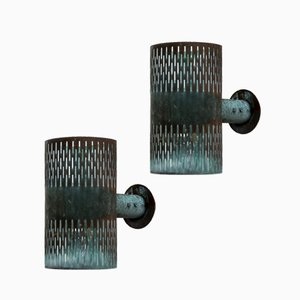 Wall Lamps by Hans Bergström for Ateljé Lyktan, 1940s, Set of 2