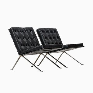 Easy Chairs by Hans Eichenberger for Girsberger, 1970s, Set of 2