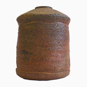 Vase Anagama par Horst Kerstan, Allemagne,1985