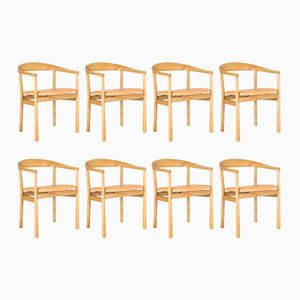 Tokyo Dining Chairs by Carl-Axel Acking for Nordiska Kompaniet, 1950s, Set of 8
