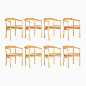 Tokyo Esszimmerstühle von Carl-Axel Acking für Nordiska Kompaniet, 1950er, 8er Set