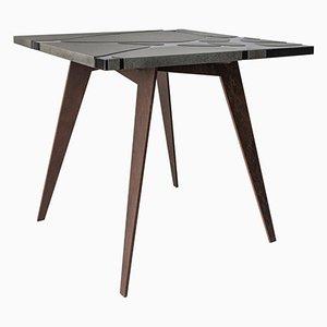 Filodifumo Outdoor Table in Lava Stone and Steel by Riccardo Scibetta & Sonia Giambrone for MYOP