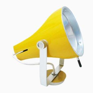Gelbe Wandlampe von Etienne Fermigier für Disderot, 1960er