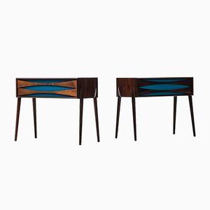 Side Tables by Rimbert Sandholt for Glas & Trä Hovmantorp, 1960s, Set of 2