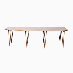 Vintage Tisch von Børge Mogensen für Erhard Rasmussen