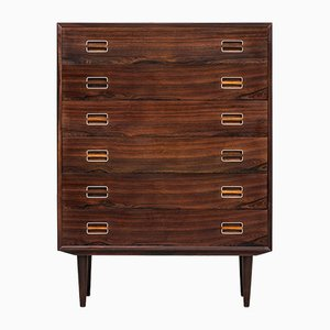 Mid-Century Rosewood Chest of Drawers, 1950s