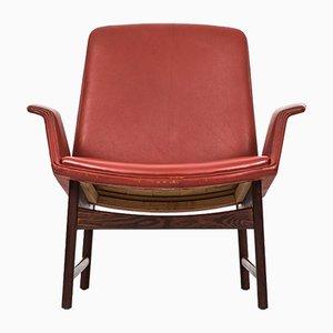 Model 451 Easy Chair by Illum Wikkelsø for Aarhus Polstrermøbelfabrik, 1950s