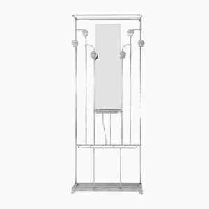 Art Deco Coat Rack with Umbrella Stand