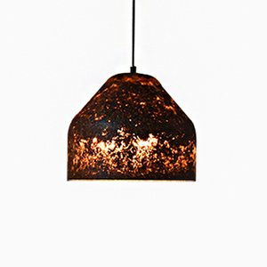 Model L LAAB-Light & Leaves Recycled Nature Collection Pendant by Miyuca Design Studio