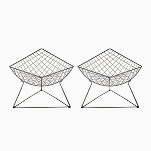 Oti Lounge Chairs by Niels Gammelgaard for Ikea, 1980s, Set of 2