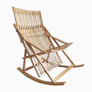 Rocking Chair G1 Vintage par Jean Claude Duboys pour Attitude