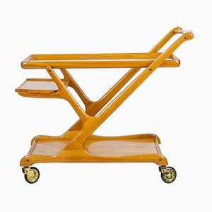 Cherry Serving Trolley by Cesare Lacca for Cassina, 1950s