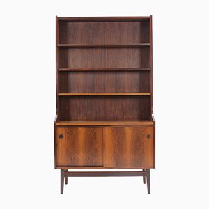 Vintage Danish Palisander Bookcase Cabinet, 1960s