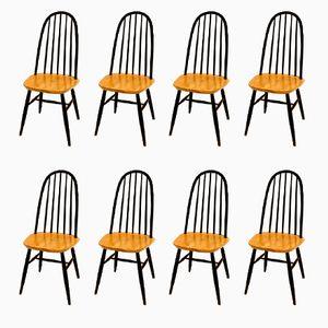 Chaises de Salon par Ilmari Tapiovaara, 1960s, Set de 8