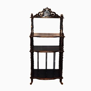 Antique Music Rack Shelves