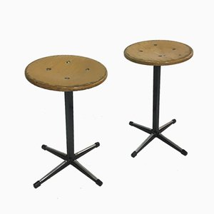 Vintage Industrial Stools from Marko, Set of 2