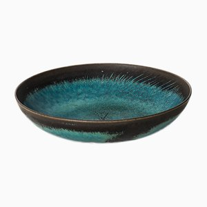 Mid-Century Ceramic Bowl by Stig Lindberg for Gustavsberg