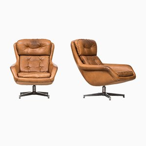 Form 7 Lounge Chairs by Alf Svensson for Dux, 1960s, Set of 2