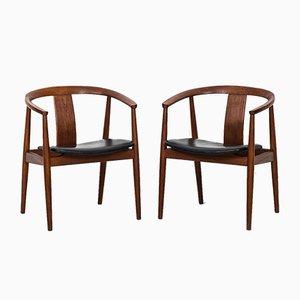 Armchairs by Tove & Edvard Kindt-Larsen for Sorø Stolefabrik, 1950s, Set of 2