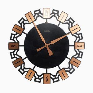 Horloge Murale Vintage de Elektrik, 1960s