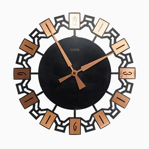 Vintage Wall Clock from Elektrik, 1960s