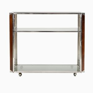 Serving Trolley in Chrome, 1970s