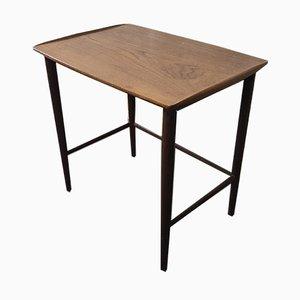 Danish Modern Teak Side Table, 1960s