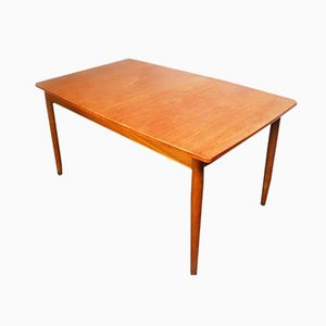 Teak Extendable Dining Table from Austinsuite, 1970s