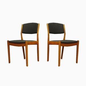 Danish Teak Chairs from Borge Mogensen, 1960s, Set of 4