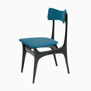 Mid-Century S3 Esszimmerstühle von Alfred Hendrickx für Belvon, 6er Set