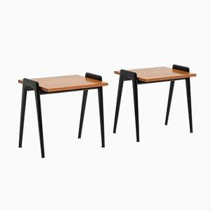 Tables d'Appoint Mid-Century par Alfred Hendrickx pour Belform, Set de 2