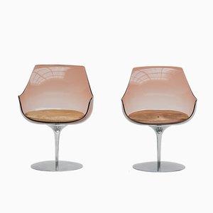Chaises Champagne par Estelle & Erwine Laverne pour Formes Nouvelles, 1960s, Set de 2