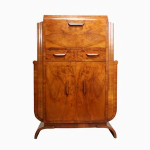 Art Deco Cocktail Cabinet, 1930s