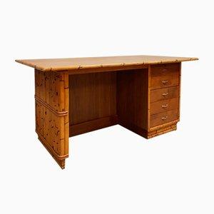 Vintage Bamboo Desk