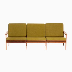 Vintage 3-Seater Capella Sofa by Illum Wikkelso for N. Eilersen, 1960s