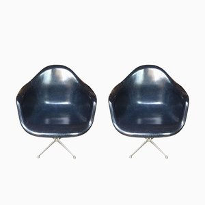Mid-Century La Fonda Chairs von Charles & Ray Eames für Vitra, 2er Set