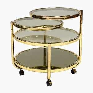 Hollywood Regency Brass Coffee Table, 1970s